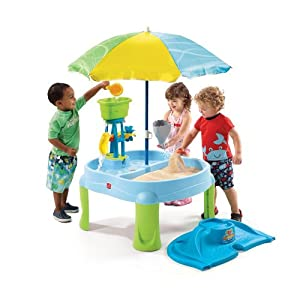Step2 Splash & Scoop Bay with Umbrella