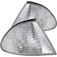 Anzo Usa 521006 Bmw Clear Wamber Reflectors Cornering Light Assembly - Sold In Pairs by Anzo USA