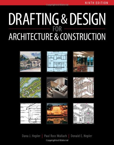 Drafting and Design for Architecture - Cengage Learning - 1111128138 - ISBN:1111128138