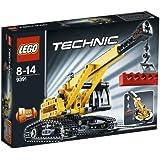 Lego Technic - 9391 - Jeu de Construction - La Grue sur Chenille