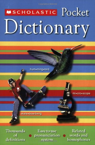 Scholastic Pocket Dictionary front-906775