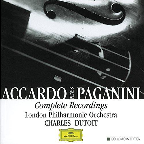 Accardo Plays Paganini: Complete Recordings