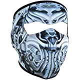 ZANheadgear Neoprene 'BioMechanical' Design Face Mask (Multicolor, One Size)