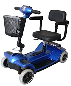 zip 39 r 4 wheel scooter options color red health personal care. Black Bedroom Furniture Sets. Home Design Ideas
