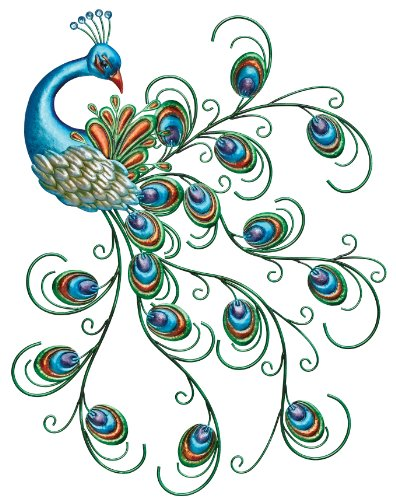 Regal Art & Gift Pretty Peacock Wall Decor