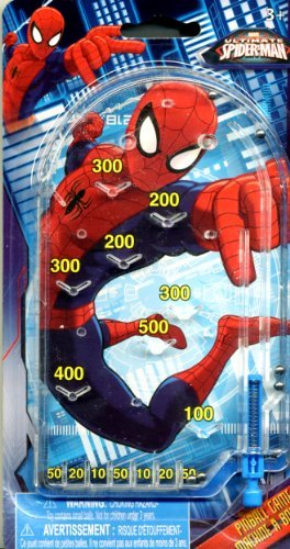 What Kids Want! Marvel Spiderman Pinball Marvel - 1
