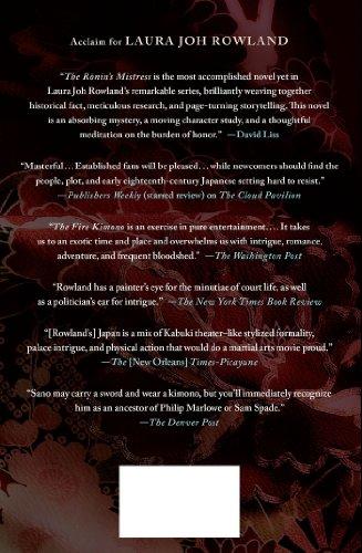 The Ronin's Mistress (Sano Ichiro Novels)