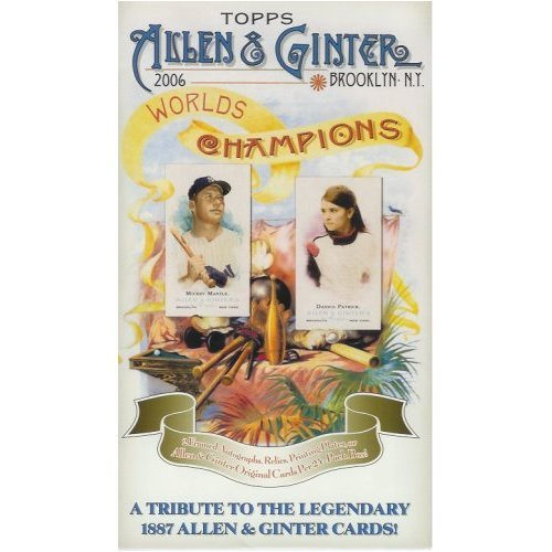 2006 Topps Allen & Ginter Baseball Card Unopened Hobby Box