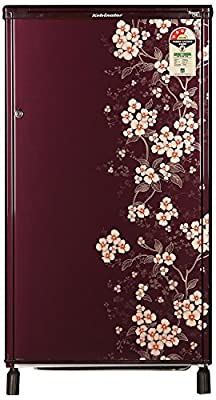 Kelvinator KW163PT-HR Direct-cool Single-door Refrigerator (150 Ltrs, 3 Star Rating, Gulmohar Red)