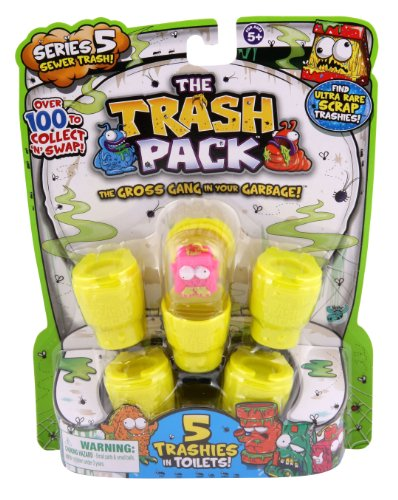 Trash Pack Series #5 Figure, 5-Pack (All Trash Pack Toys compare prices)