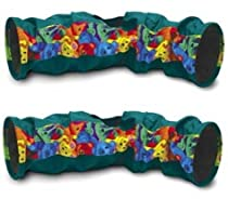 (2 Pack) Super Pet Connectable Crinkle Tunnel, Colors may Vary
