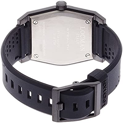 [Rockman] LOCMAN watch stealth classic GMT Quartz Men's 0200 0200BKBKFRD1GOK Men