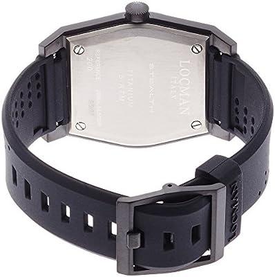 LOCMAN watch stealth classic GMT Quartz Men's 0200 0200BKBKFRD1GOK Men