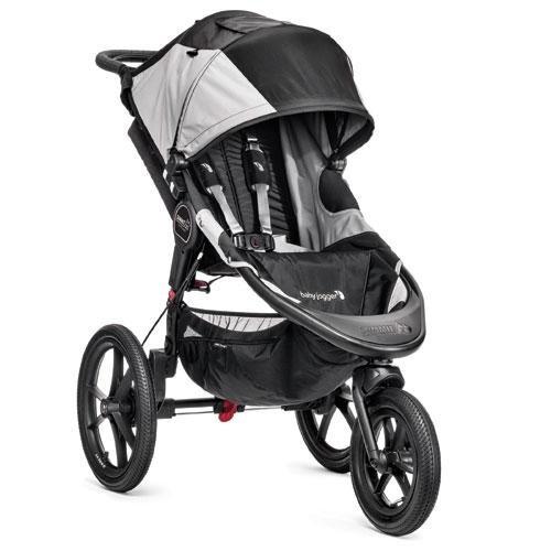 Baby Jogger Summit X3 Single Stroller, Black