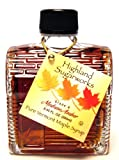 Highland Sugarworks 100% Pure Grade A Vermont Maple Syrup: Log Cabin, 8.45 fl oz Glass Bottle