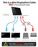 Fosmon-18m-mini-Displayport-zu-HDMI-Adapter-Kabel-MiniDPmDP-Cable-Cord-fr-Apple-iMac-2009-Spter-Mac-Mini-Mid-2010-Spter-Mac-Pro-Mittel-2010-MacBook-MacBook-Pro-MacBook-Air-Microsoft-Surface-Pro-Surfac