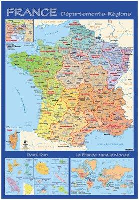 Carte Du Monde Plastifiee Pas Cher