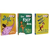 There's a Wocket in My Pocket / The Foot Book / The Nose Book - Pack D (Bright and Early Board Books ~ Dr. Seuss