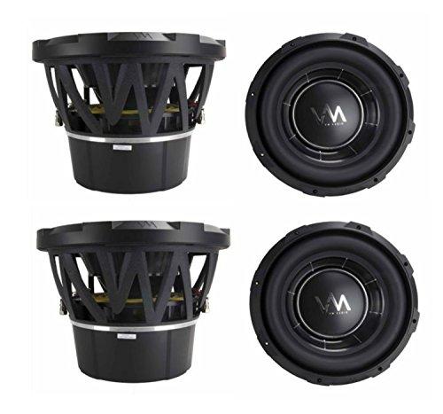 """4) Vm Audio Ecw100 Encore 10"""" Competition Car Subwoofers Subs 2600W Dvc (4 Pack)"""