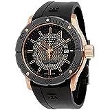 (エドックス) EDOX 腕時計 Chronoffshore-1 Automatic Men Watch Chronoffshore-1自動メンズ腕時計 80099 37R NIR [並行輸入品] DOLZIKGOO