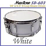 Maxtone/マックストーン SD-603/White スネア ランキングお取り寄せ