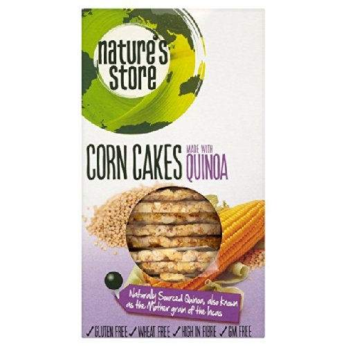 Nature's Store Free From Corn Cakes with Quinoa 120g