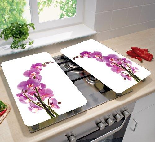 Wenko 2521433500 coprifornelli universal orchid blossom for Tipi di piani di casa