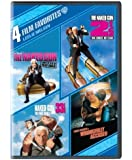 4 Film Favorites: Leslie Nielsen (Naked Gun From The Files Of Police Squad, Naked Gun 2 & 1/2 : The Smell Of Fear, Naked Gun 33 1/3: The Final Insult, Wrongfully Accused) by Warner Home Video