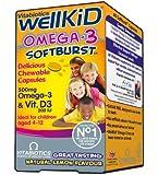 Vitabiotics Wellkid Soft Burst Capsules - 60 Capsules