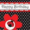 Creative Converting Ladybug Fancy Happy Birthday Luncheon