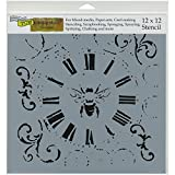 Crafters Workshop Bee on Time Crafter's Workshop Template, 12-Inch by 12-Inch