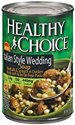 Healthy Choice Soup Italian Wedding, 15-Ounce Cans (Pack of 12)