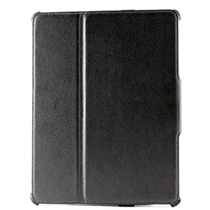 AYL (TM) 5-in-1 High Quality Premium Slim Leather Case Folio with built-in Stand for Apple iPad 2