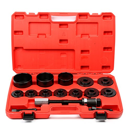 8milelake 19pc Master Set Front Wheel Hub Drive Bearing Removal Install Service Tool Kit (Wheel Bearing Removal compare prices)