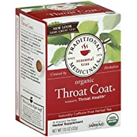 Traditional Medicinals Throat Coat Tea-16 Tea Bags