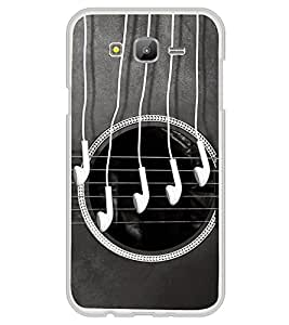 Guitar and Head Phones 2D Hard Polycarbonate Designer Back Case Cover for Samsung Galaxy E7 (2015) :: Samsung Galaxy E7 Duos :: Samsung Galaxy E7 E7000 E7009 E700F E700F/DS E700H E700H/DD E700H/DS E700M E700M/DS