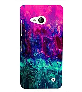 Abstract Color Painting 3D Hard Polycarbonate Designer Back Case Cover for Lumia Lumia 550 :: Microsoft Lumia 550