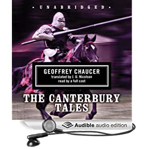 The Canterbury Tales Geoffrey Chaucer, Martin Jarvis, Jay Carnes and Ray Porter