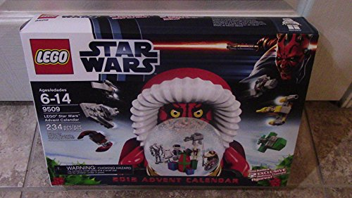 (Ship from USA) +++ LEGO - STAR WARS 2012 ADVENT CALENDAR #9509 BRAND NEW SEALED! DARTH VADER+++ /ITEM#H3NG UE-EW23D132421