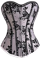 Silver Gothic Corset