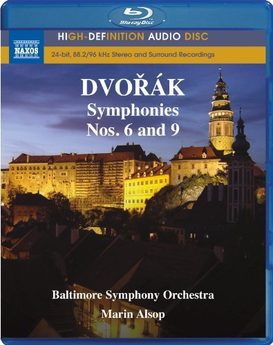 Cover art for  Dvorak: Symphony Nos. 6 and 9 (Blu Ray Audio)