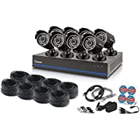 Swann 8 Channel 1080p TVI DVR 2TB Security System with 8 1080p Cameras & 100' Night Vision