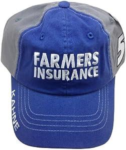 Buy Kasey Kahne #5 Farmers Insurance Adjustable Cap Checkered Flag NASCAR by NASCAR