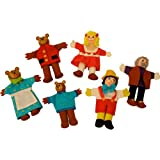 Bigjigs Toys Goldilocks & The Three Bears Finger Puppets