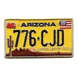 Panneau humoristique arizona aZ uS états-unis patch décoratif à coudre motif k-36 thermocollantes