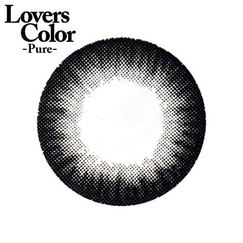 小森純×度ありカラコン Lovers ColorPureー シャギーブラック PWR2.00 DIA 14.5
