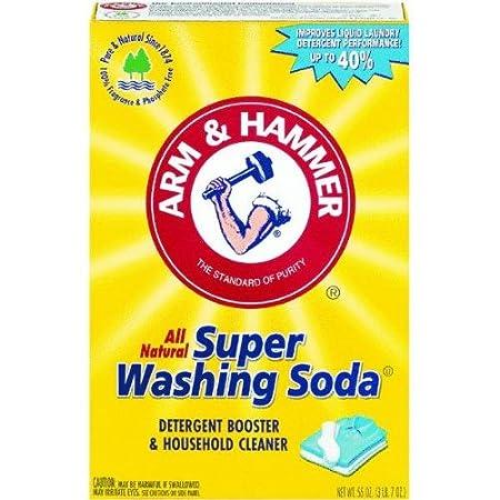 WASHING SODA not Baking Soda