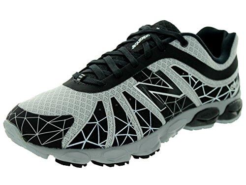 New Balance Kj890 Grade Lace-Up Running Shoe (Big Kid),Black/Silver,5 W Us Big Kid