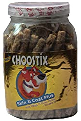 Choostix Skin And Coat Plus With Omega 3 Fatty Acids (Vitamin E), Dog Treat, 450g