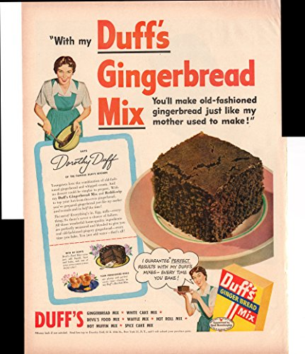 duffs-gingerbread-mix-reddi-wip-desserts-2-page-1950-antique-advertisement